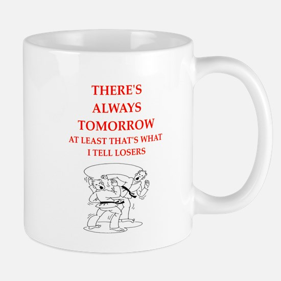 martiel arts joke Mugs