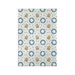 Vintage Tea Pattern Rectangle Magnet (10 pack)