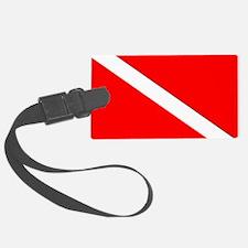 Cute Dive flag Luggage Tag