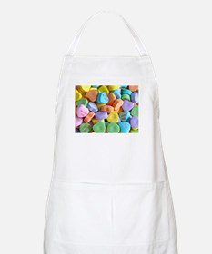 Colorful Candy Hearts Apron