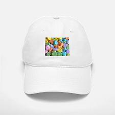 Colorful Candy Hearts Baseball Baseball Baseball Cap