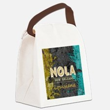 Cute New orleans Canvas Lunch Bag