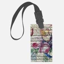 Unique Morning glory vintage Luggage Tag
