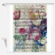 Floral Song Shower Curtain