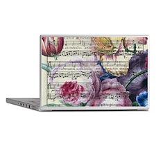 Floral Song Laptop Skins