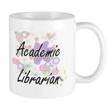Academic Librarian Artistic Job Design with F Mugs