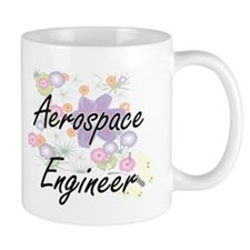 Aerospace Engineer Artistic Job Design with F Mugs