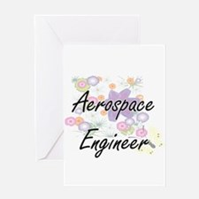 Aerospace Engineer Artistic Job Des Greeting Cards