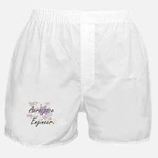 Aerospace Engineer Artistic Job Desig Boxer Shorts