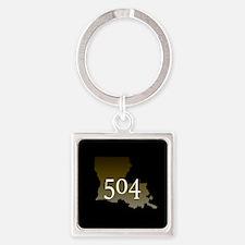 NOLA 504 Louisiana Keychains