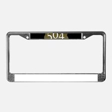 NOLA 504 Louisiana License Plate Frame