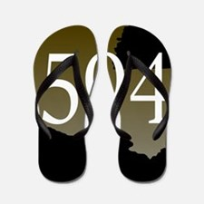 NOLA 504 Louisiana Flip Flops