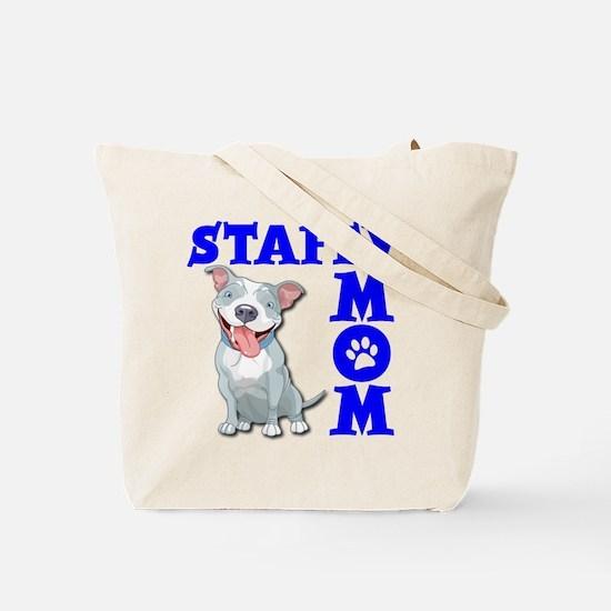 STAFFY MOM (both sides) Tote Bag