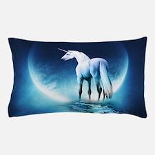 White Unicorn Pillow Case