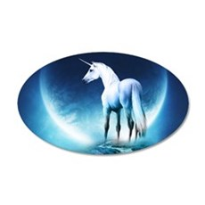 White Unicorn Wall Sticker
