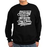 Lung cancer Sweatshirt (dark)
