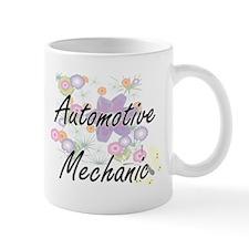 Automotive Mechanic Artistic Job Design with Mugs