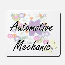 Automotive Mechanic Artistic Job Design Mousepad