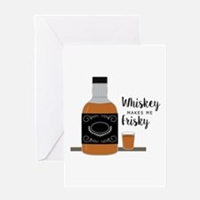 Frisky Whiskey Greeting Cards