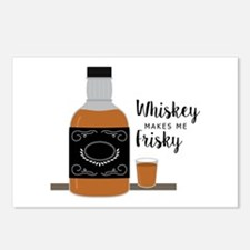 Frisky Whiskey Postcards (Package of 8)