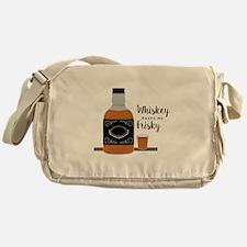 Frisky Whiskey Messenger Bag
