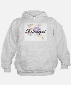 Electrologist Artistic Job Design with Hoodie