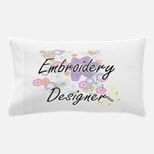 Embroidery Designer Artistic Job Desig Pillow Case