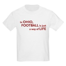 Football Ohio T-Shirt