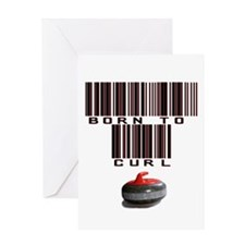 Born to Curl Greeting Card
