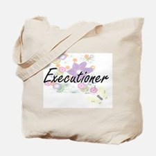 Executioner Artistic Job Design with Flow Tote Bag