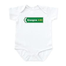 Glasgow Roadmarker, UK Infant Bodysuit