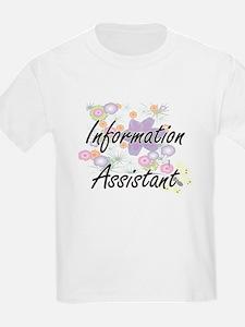Information Assistant Artistic Job Design T-Shirt