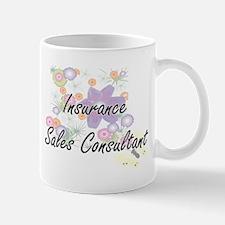 Insurance Sales Consultant Artistic Job Desig Mugs