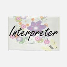 Interpreter Artistic Job Design with Flowe Magnets