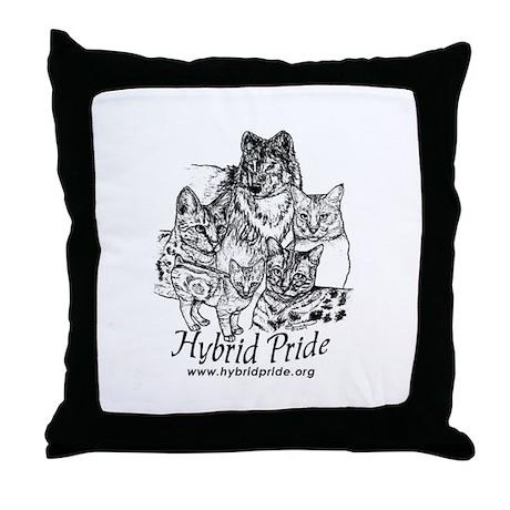 Hybrid Pride Throw Pillow