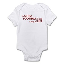 Football Ohio Infant Bodysuit