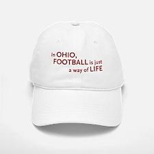 Football Ohio Baseball Baseball Cap