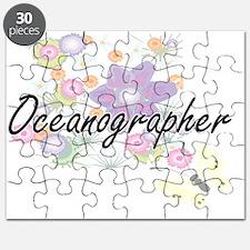 Oceanographer Artistic Job Design with Flow Puzzle