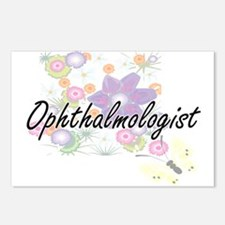 Ophthalmologist Artistic Postcards (Package of 8)