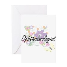 Ophthalmologist Artistic Job Design Greeting Cards