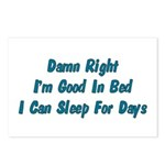 Good In Bed Postcards (Package of 8)