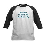 Good In Bed Kids Baseball Jersey