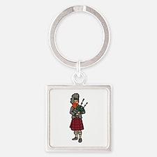 Scottish Bagpiper Keychains
