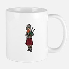 Scottish Bagpiper Mugs