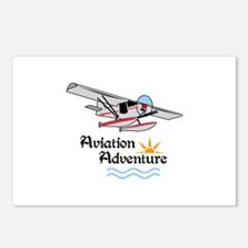 Aviation Adventure Postcards (Package of 8)