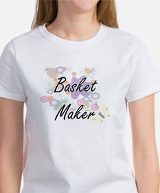 Basket Maker Artistic Job Design with Flow T-Shirt
