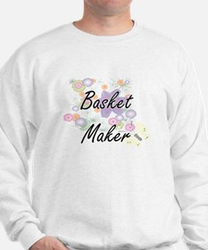 Basket Maker Artistic Job Design with F Sweatshirt