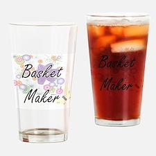 Basket Maker Artistic Job Design wi Drinking Glass