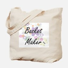 Basket Maker Artistic Job Design with Flo Tote Bag