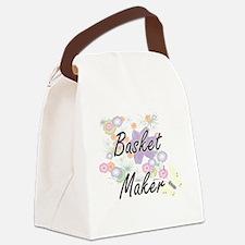 Basket Maker Artistic Job Design Canvas Lunch Bag